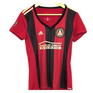 Adidas Atlanta United Ladies Soccer Jersey Size M